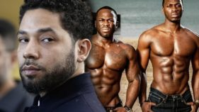 Jussie Smollett and Osundairo brothers