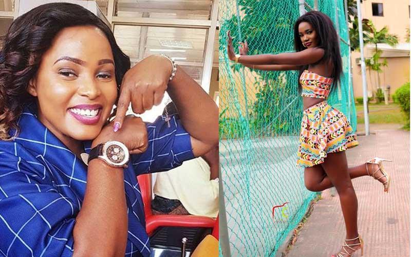 oan Lule Nakintu and Miss Uganda Oliver Nakakande