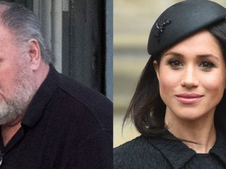 Meghan Markle and father