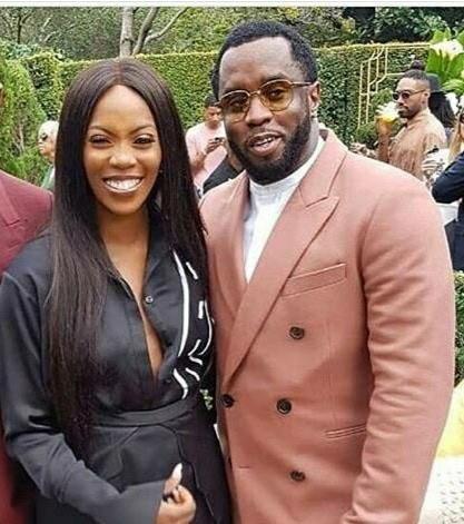 Tiwa Savage and Diddy