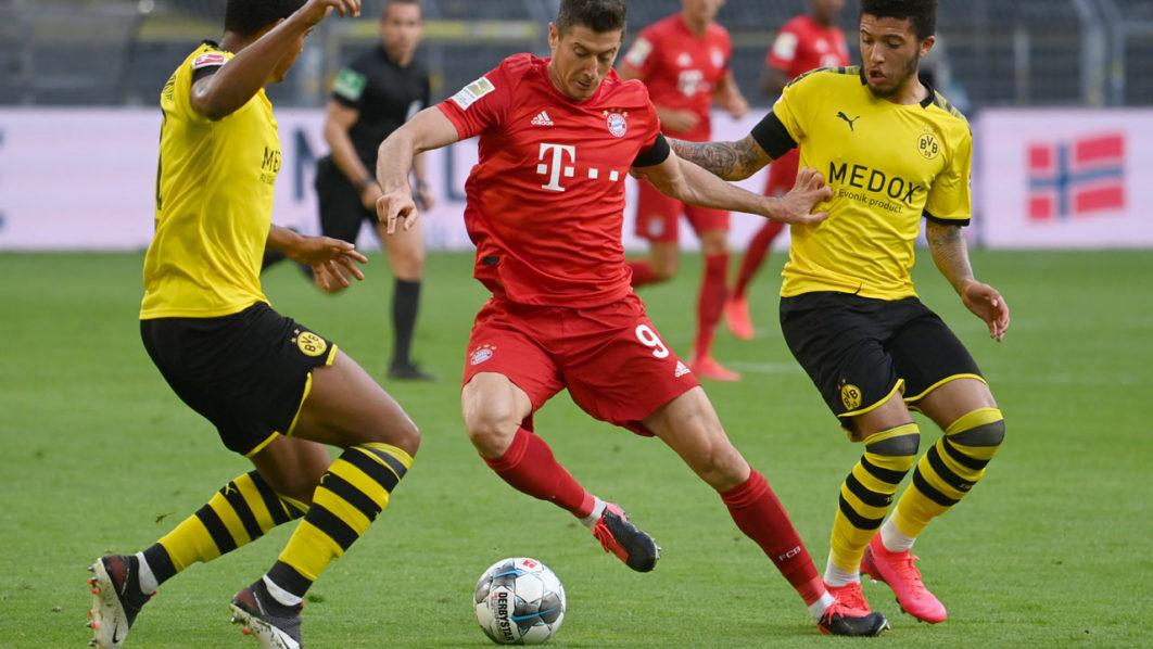 Bayern Munich down Borussia Dortmund, to close on 8th Bundesliga league title