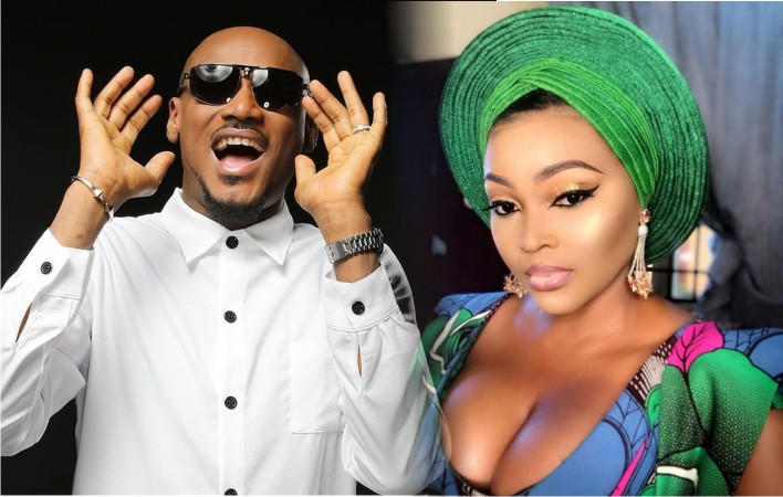 2Baba and Mercy Aigbe