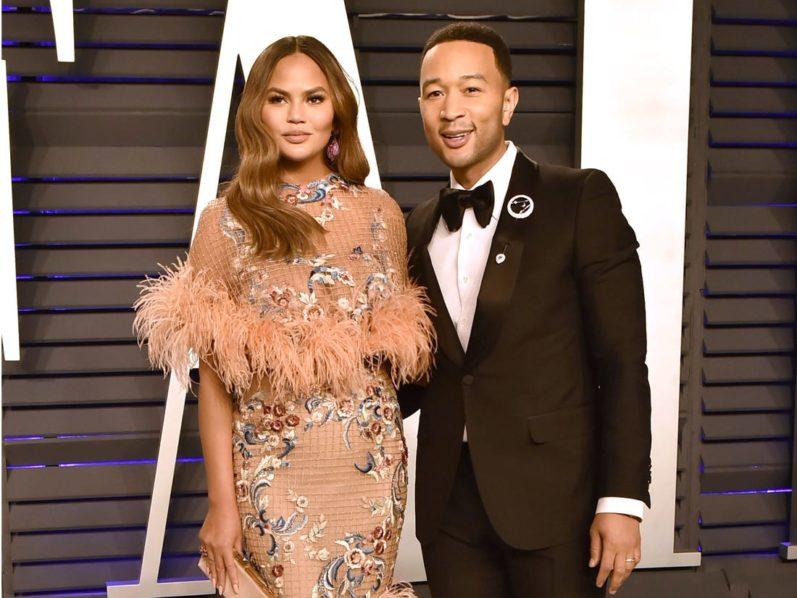 Chrissy Teigen and husband, John Legend