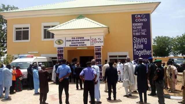 COVID-19: Coalition of Nigerian private sector donates hospital equipment to Gombe state - Guardian