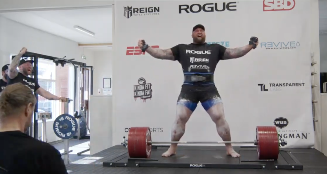 Mountain top: Game of Thrones actor sets deadlift record