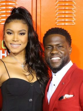 Kevin Hart and Eniko Parrish