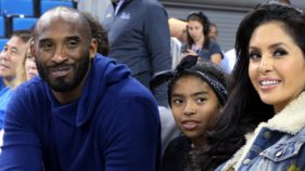 Kobe, Vanessa and Gigi Bryant