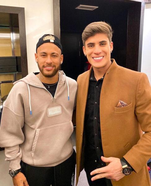 Neymar and his mother's ex, Tiago Ramos