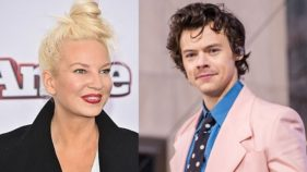 Sia and Harry Styles