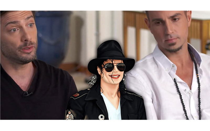 Wade Robson (left) and James Safechuck, 42 accused Michael Jackson of sex abuse.