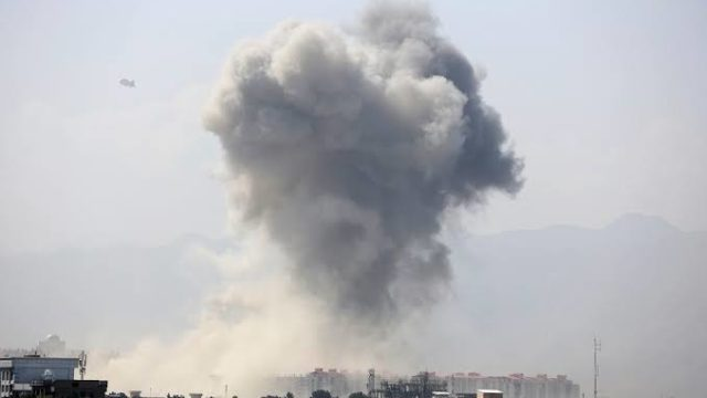 Four back-to-back bomb explosions rock Kabul