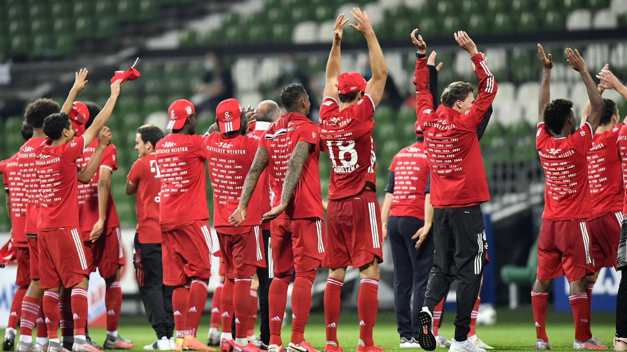 'Best in Germany': Bayern clinch eighth straight ...