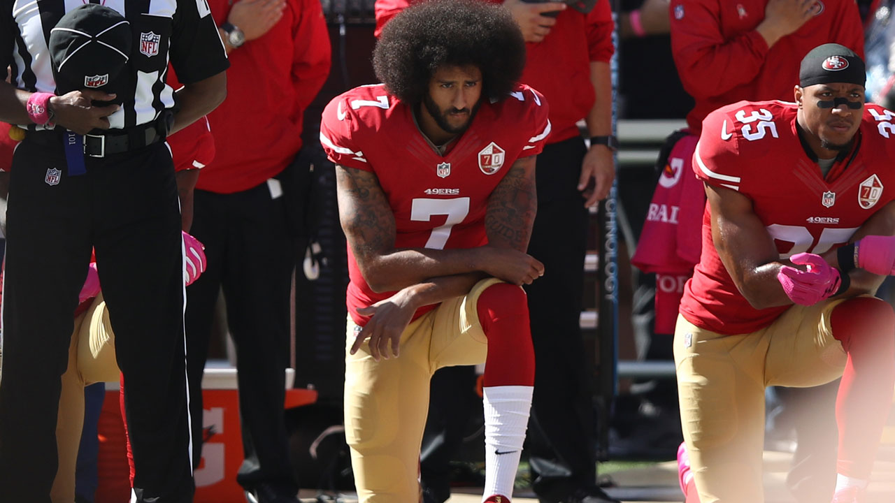 Trump has change of heart on flag 'kneeler' Kaepernick