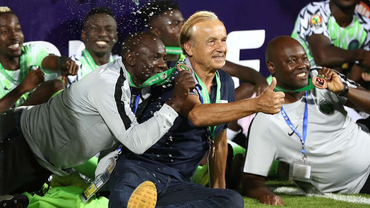 Rohr promises to make Nigeria African champions again