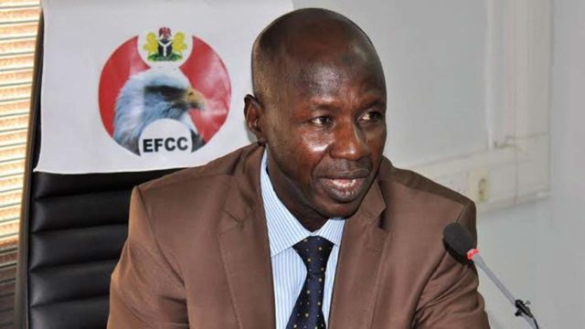5 years EFFC acting Chairman Ibrahim Magu arrested by DSS
