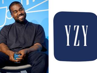 Kanye West and Gap logo
