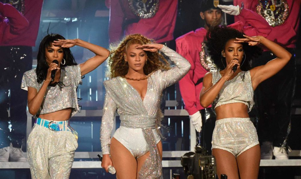 Michelle Williams, Beyonce and Kelly Rowland