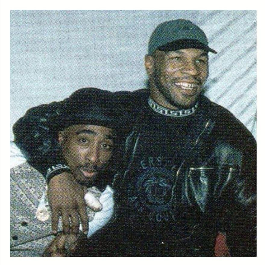 Video Of Mike Tyson And 2pac Hours Before Rapper's Death Surfaces