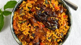 Nigerian native Jollof rice