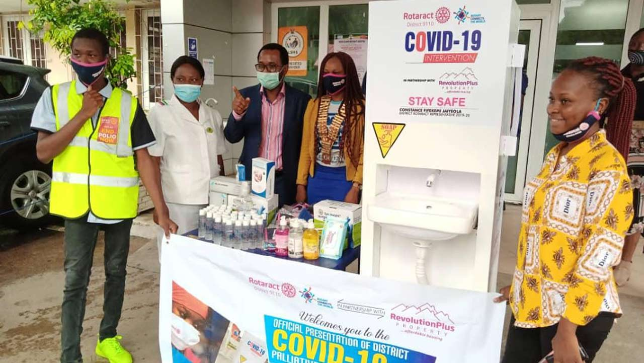 World Humanitarian Day: Rotary Club of Lagos Island commends frontline health workers