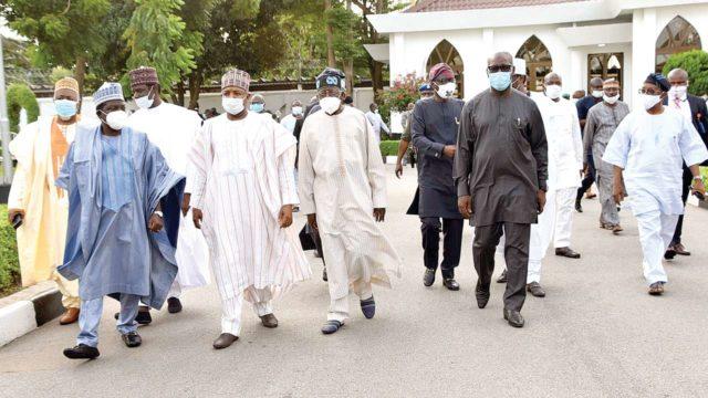Nine govs meet Tinubu over Oshiomhole, Obaseki's crisis - Guardian