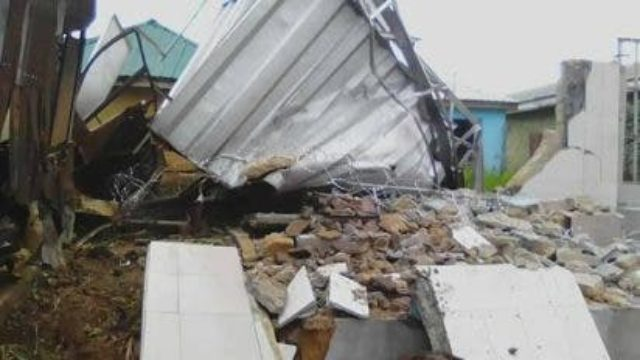 Abia: 'Collapsed building built with substandard materials'Nigeria - Guardian