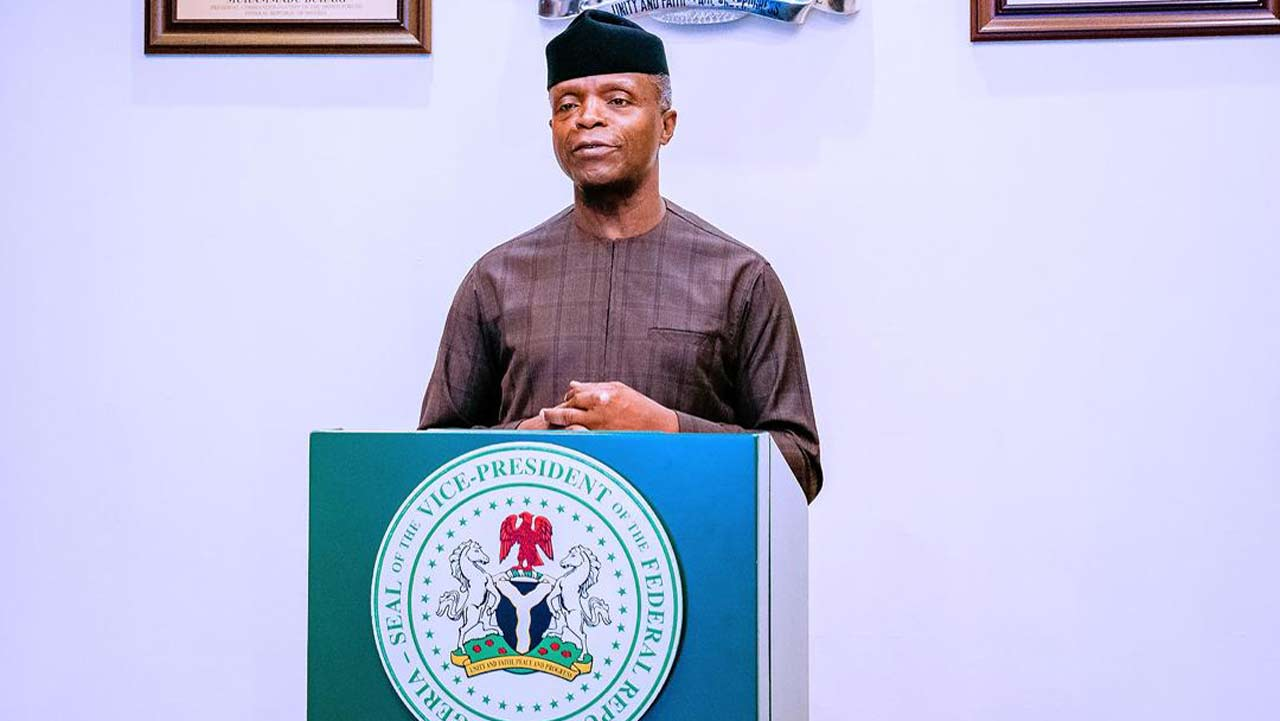 FG collaborating with investors to improve digital sector — Osinbajo | The Guardian Nigeria News - Nigeria and World News
