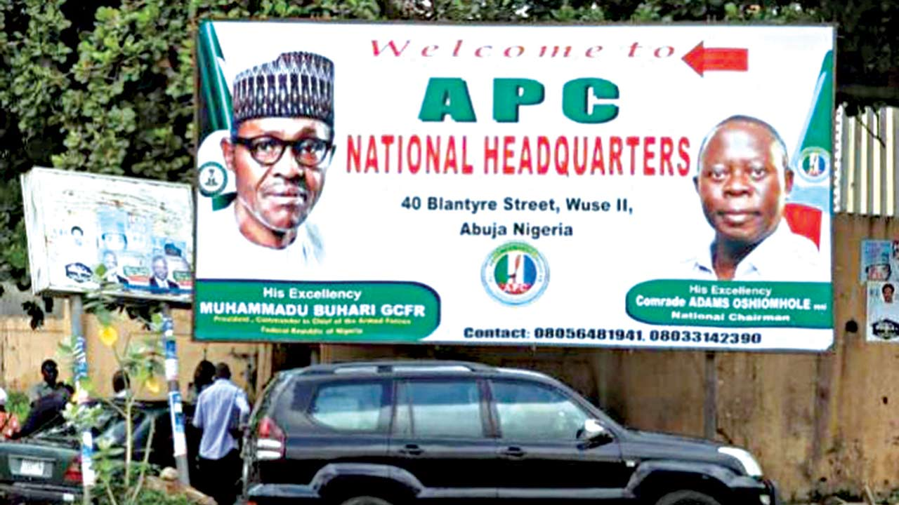 APC: Politics of prebendalism