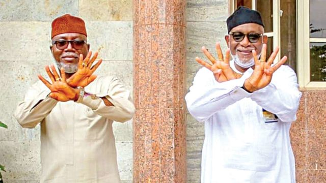 Ripples over Akeredolu's choice of running mate in Ondo APC - Guardian