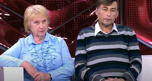 Galina Zhukovskaya and Vyacheslav