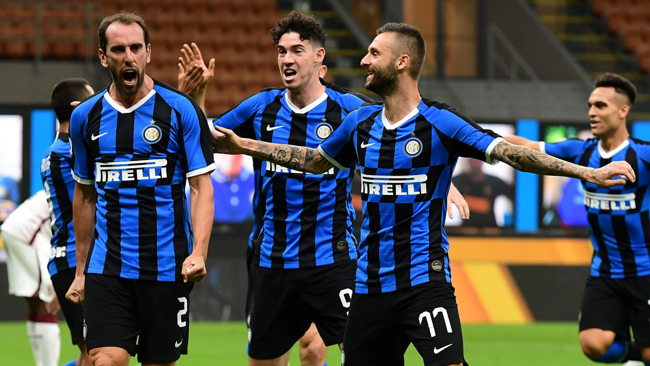 Serie A: Spirited Inter Milan recover from goal down to ...  |Inter Milan