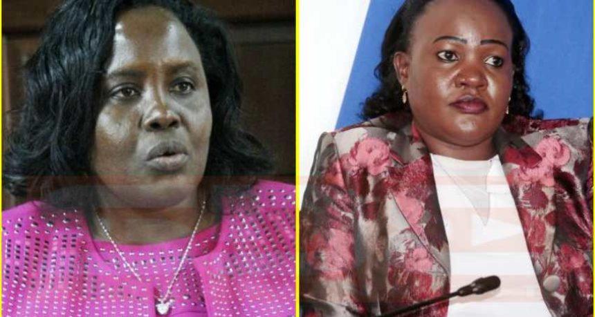Mary Seneta and Beatrice Kwamboka