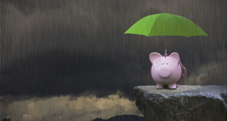 Saving for the rainy day