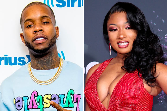 Tory Lanez and Meghan The Stallion