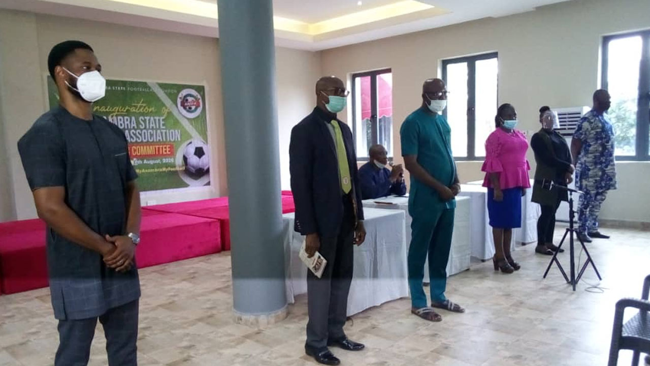 Caretaker committee promises better times for Anambra football stakeholders, unveils new FA secretariat