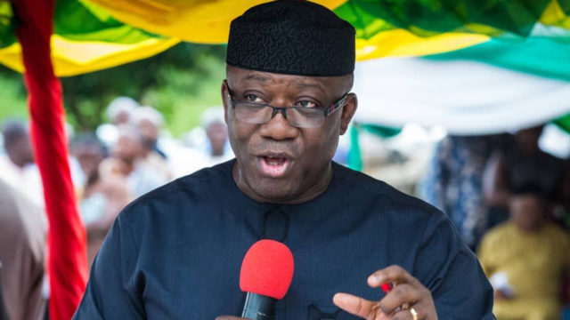 APC says Fayemi's suspension by faction a 'nullity'Nigeria