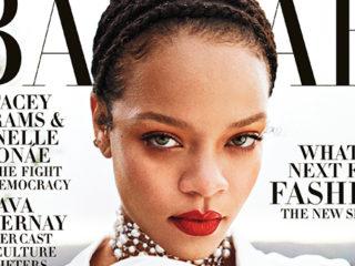Rihanna for Harper's Bazaar