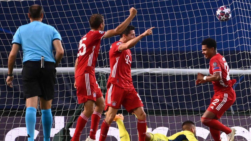 Gnabry double sends dominant Bayern Munich into UEFA Champions League final