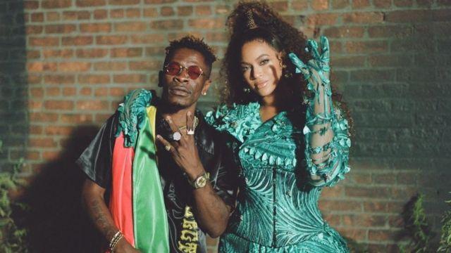 Shatta Wale and Beyonce