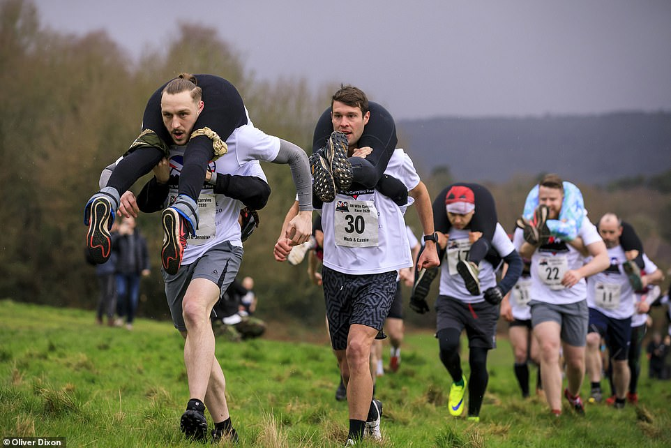 Image result for wife carrying sport