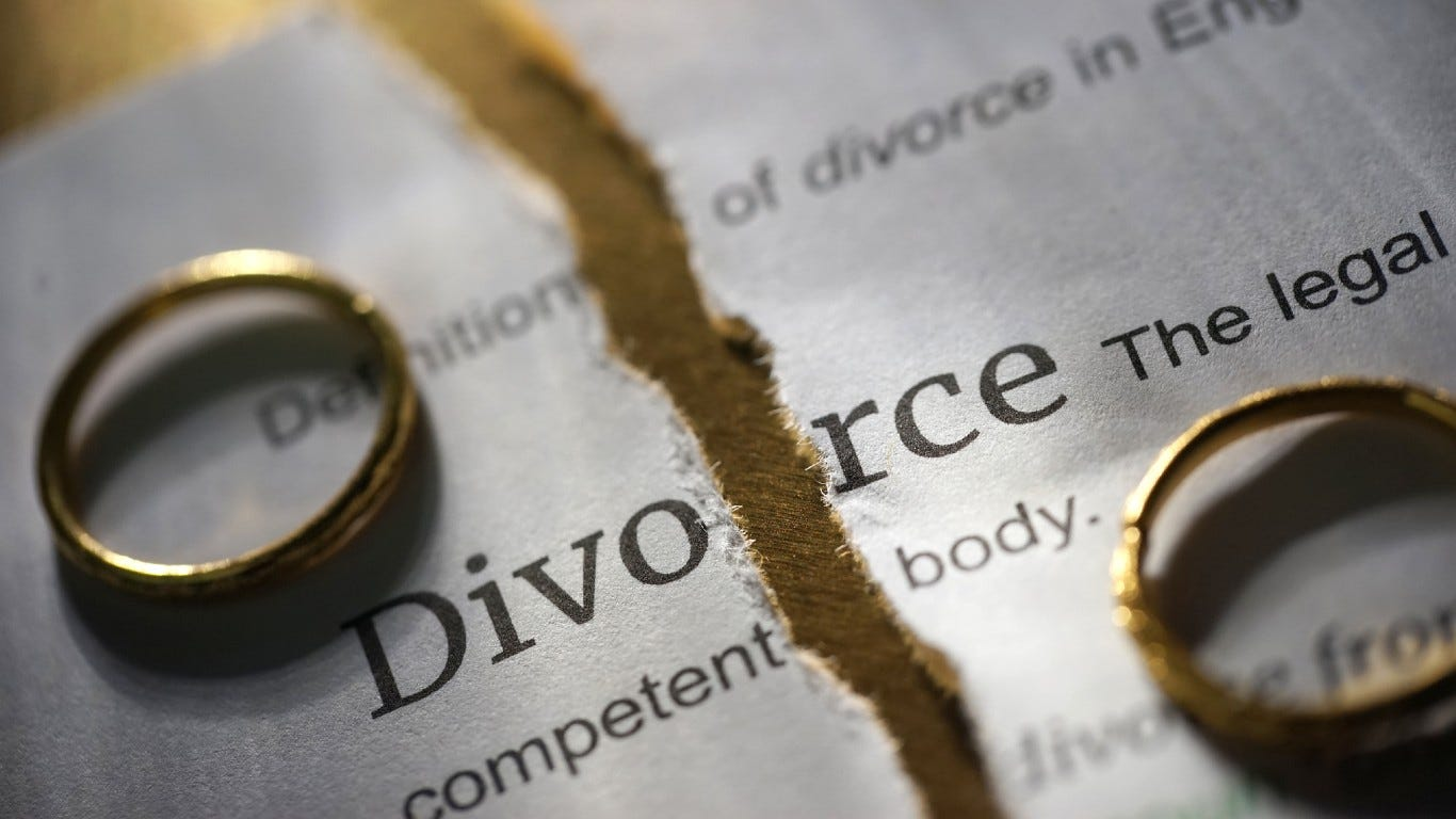 20 SHOCKING ADVICE FROM A DIVORCED MAN