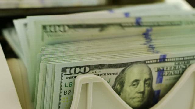 External reserves gain $76.5 billion in seven days