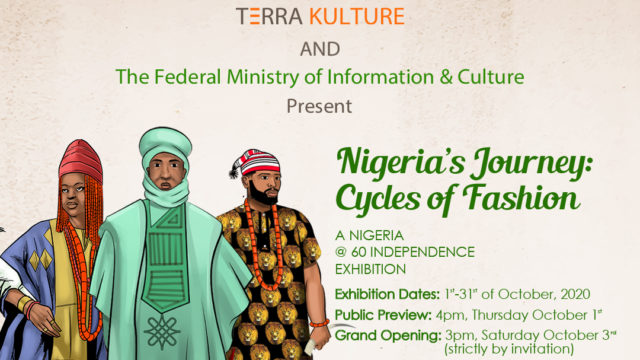 """Terra Kulture Partners With The Federal Ministry Of Information For """"Nigeria's Journey: Cycles Of Fashion""""Guardian Life"""