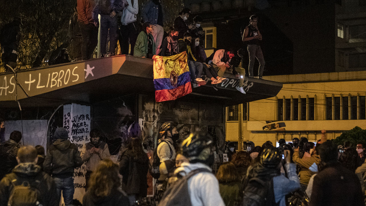Colombia protests against police brutality continue after law student killed