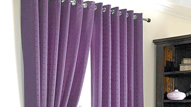 Rains are back: Put up thick curtains for aesthetic cozy ambience