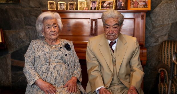 World's Oldest couple