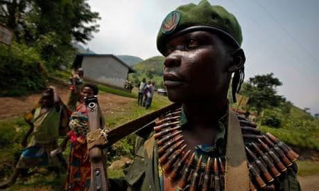 Katanga rebels stage incursion into DR Congo mining centre