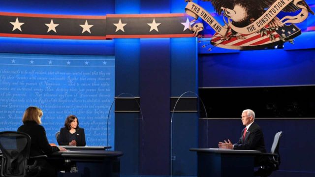 VP debate strikes civil tone after ugly US presidential clashWorld