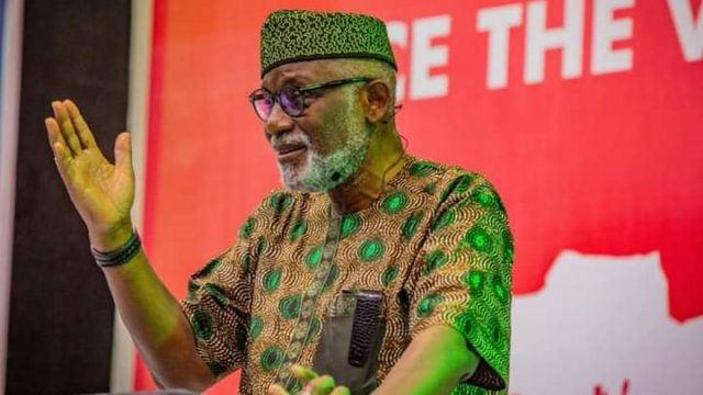 Akeredolu orders schools to resume October 19Nigeria