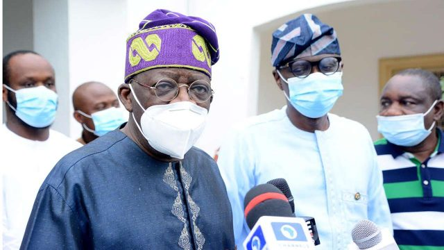 Tinubu visits Sanwo-Olu, outlines steps to redressing SARS' atrocitiesNigeria
